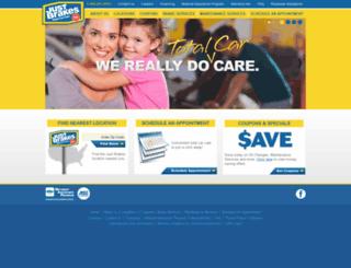justbrakes.com screenshot