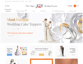 justcaketoppers.com screenshot