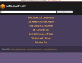 justcarjewelry.com screenshot