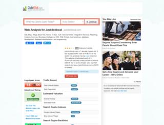 justclicklocal.com.cutestat.com screenshot