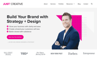 justcreativedesign.com screenshot