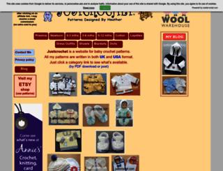 justcrochet.com screenshot