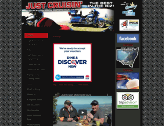 justcruisintours.com.au screenshot