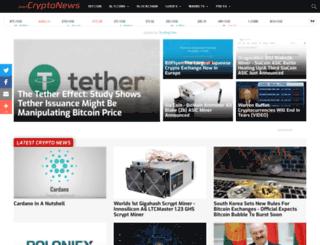 justcryptonews.com screenshot