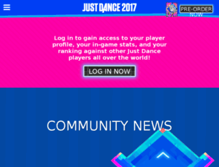 justdancetv.ubi.com screenshot