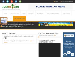 justdeywin.com screenshot