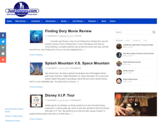 justdisney.com screenshot