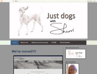 justdogswithsherri.blogspot.com screenshot