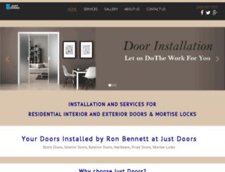 justdoors.co screenshot