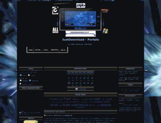 justdownload.forumattivo.com screenshot