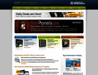 justdreamweaver.com screenshot