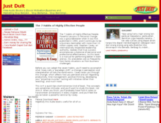 justduit8.blogspot.com screenshot