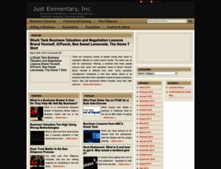 justelementary.com screenshot