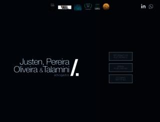 justen.com.br screenshot
