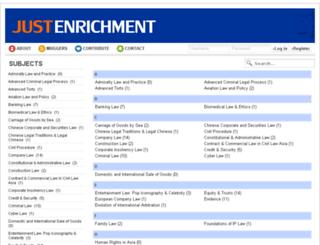 justenrichment.nuslawclub.com screenshot