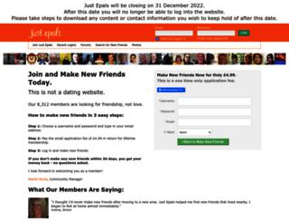 justepals.com screenshot