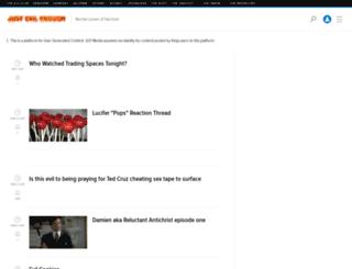 justevilenough.kinja.com screenshot