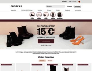 justfab.de screenshot