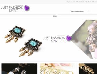 justfashionspirit.com screenshot