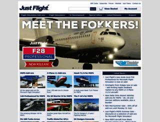 justflight.com screenshot