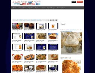 justfoodrecipes.com screenshot