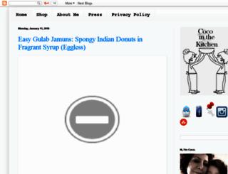 justforfoodies.blogspot.com screenshot