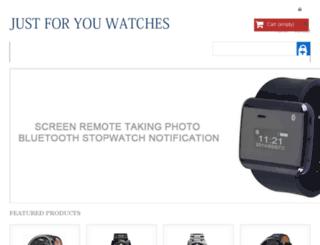 justforyouwatches.com screenshot