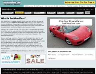 justgoodcars.com screenshot