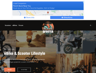 justgottascoot.com screenshot