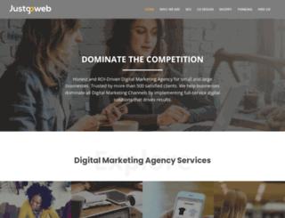 justgoweb.com screenshot
