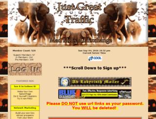justgreat.madmels.info screenshot