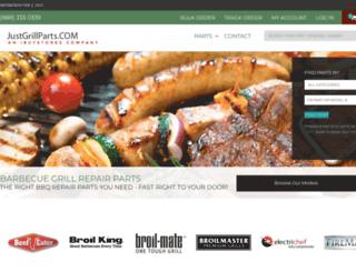 justgrillparts.com screenshot