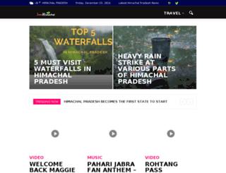 justhimachal.com screenshot