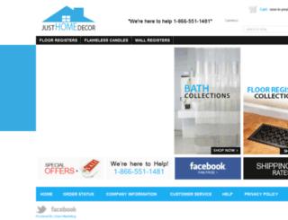justhomedecor.com screenshot