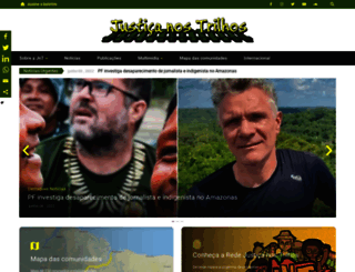 justicanostrilhos.org screenshot
