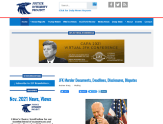 justice-integrity.org screenshot