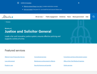 justice.gov.ab.ca screenshot
