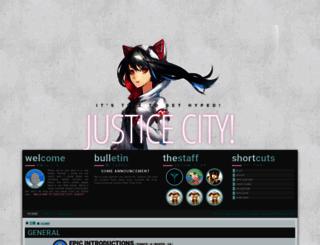 justicecity.freeforums.net screenshot