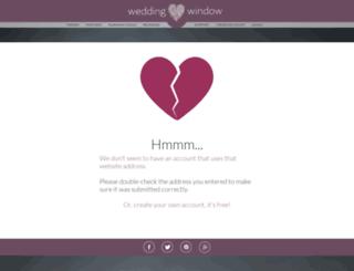 justin-and-heather.weddingwindow.com screenshot