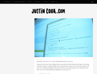 justin-cook.com screenshot