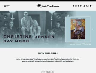 justin-time.com screenshot