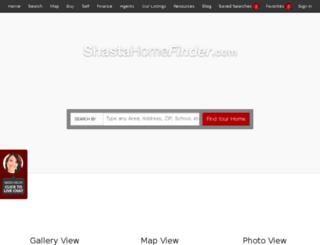justin.shastahomefinder.com screenshot