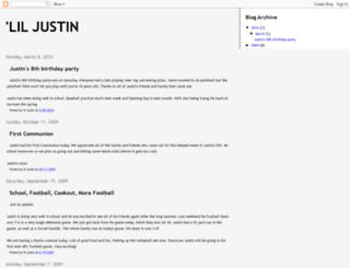 justinbieber.net screenshot