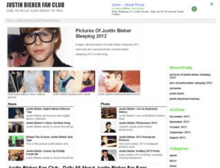 justinbieberz.com screenshot