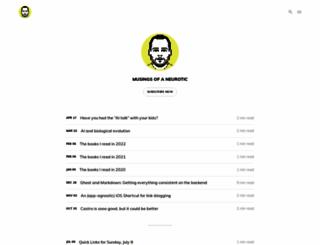 justinblanton.com screenshot