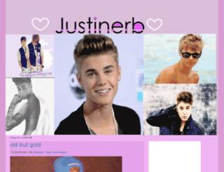 justinerb.blogg.no screenshot