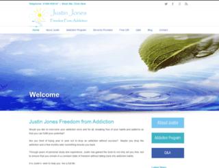 justinjones-freedomfromaddiction.co.uk screenshot