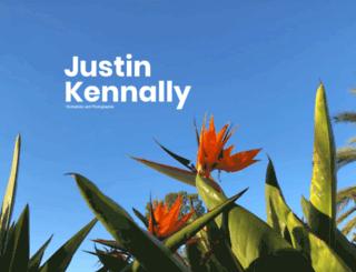 justinkennally.com screenshot