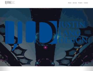 justinlangdesign.com screenshot