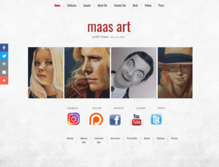 justinmaas.com screenshot